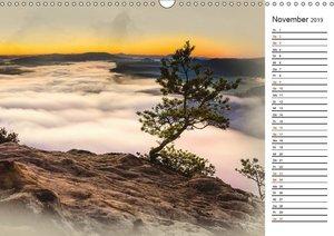 Traumhafte Sächsische Schweiz (Wandkalender 2019 DIN A3 quer)