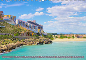 Costa del Azahar - Spaniens Orangenblütenküste (Wandkalender 202