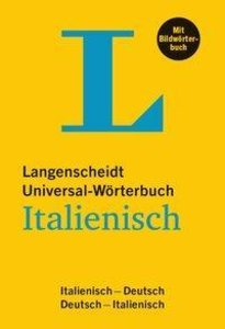 Langenscheidt Universal-Wörterbuch Italienisch - mit Bildwörterb