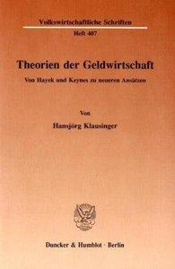 Theorien der Geldwirtschaft