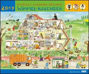 Wimmel-Kalender 2019 - DuMont Kinderkalender