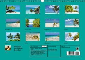 Beautiful Caribbean Beaches (Wall Calendar perpetual DIN A3 Land