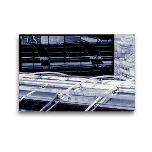 Premium Textil-Leinwand 45 cm x 30 cm quer Frankfurt/Main