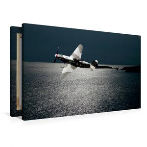 Premium Textil-Leinwand 90 cm x 60 cm quer Yakovlev Yak-3