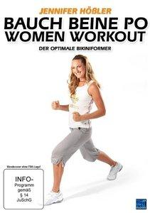 Bauch Beine Po Woman Workout - Der optimale Bikiniformer - Jenni