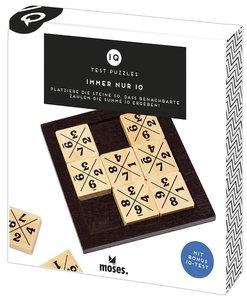 Moses MOS92082 - IQ Test Puzzles, Immer nur 10!, Logikspiel