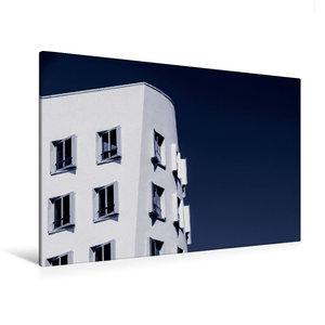 Premium Textil-Leinwand 120 cm x 80 cm quer Düsseldorf