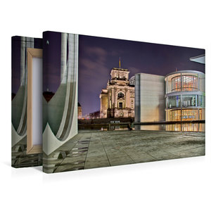 Premium Textil-Leinwand 45 cm x 30 cm quer Berlin - Abgeordetenh