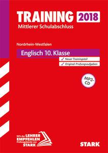 Training Mittlerer Schulabschluss NRW 2018 - Englisch, mit MP3-C