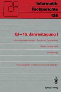 GI-16.Jahrestagung I