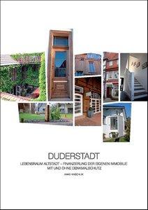 DUDERSTADT - Lebensraum Altstadt - Finanzierung der eigenen Immo