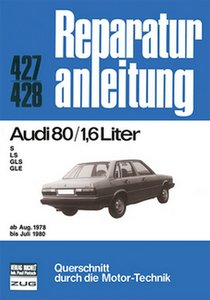 Audi 80 / 1,6 Liter ab Aug. 1978 bis Juli 1980