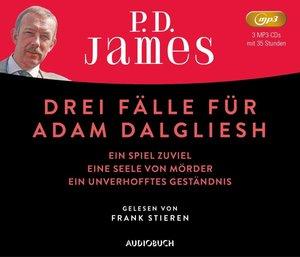 Drei Fälle für Adam Dalgliesh, 1 MP3-CD