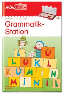 LÜK mini. Grammatikstation 3./4. Klasse