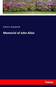 Memorial of John Allan