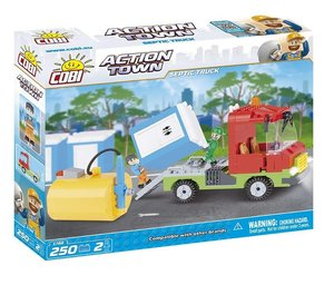 COBI 1788 - ACTION TOWN, Septic Truck, Toiletten-Abpump-Tankwage