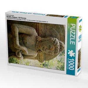 Ein Motiv aus dem Kalender Buddha Statuen / CH-Version 1000 Teil