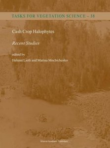 Cash Crop Halophytes: Recent Studies