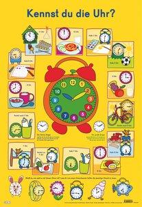 Mein Lernposter: Kennst du die Uhr?