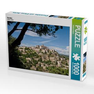 Gordes 1000 Teile Puzzle quer
