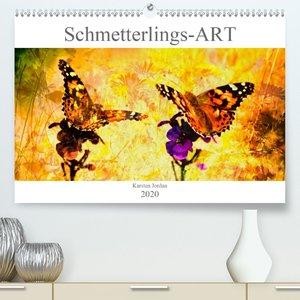 Schmetterlings-ART(Premium, hochwertiger DIN A2 Wandkalender 202