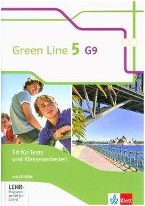 Green Line 5 G9. Fit für Tests und Klassenarbeiten mit Lösungshe