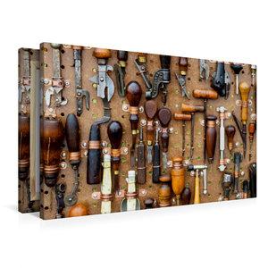 Premium Textil-Leinwand 90 cm x 60 cm quer Werkzeug