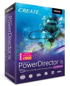 Cyberlink PowerDirector 16 Ultimate/CD-ROM