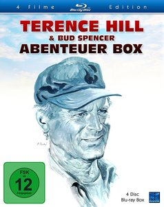 Terence Hill & Bud Spencer - Abenteuer Box, 4 Blu-ray (Special E
