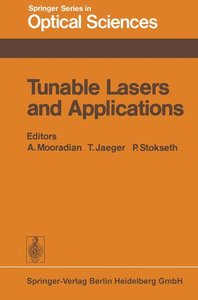 Tunable Lasers and Applications