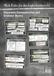Classroom Communication and Grammar Basics, Poster