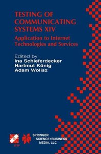 Testing of Communicating Systems XIV