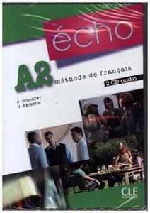 Écho A2. 2 CDs audio pour la classe