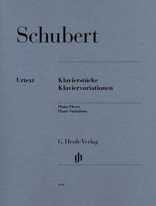 Klavierstücke und Klaviervariationen