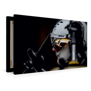 Premium Textil-Leinwand 90 cm x 60 cm quer ROWE Racing Mercedes-