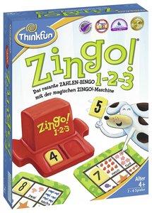 Ravensburger 76352 - ThinkFun®, Zingo 1-2-3, Legespiel, Konzentr
