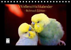 Wellensittichkalender - Schmuck Edition