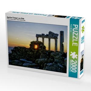 Apollon-Tempel von Side 2000 Teile Puzzle quer