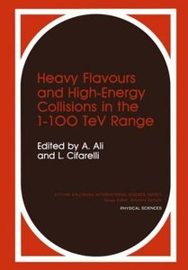 Heavy Flavours and High-Energy Collisions in the 1-100 TeV Range
