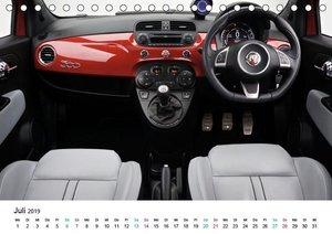 Fiat Cinquecento im Fokus (Tischkalender 2019 DIN A5 quer)