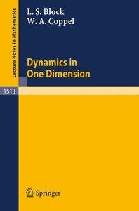 Dynamics in One Dimension