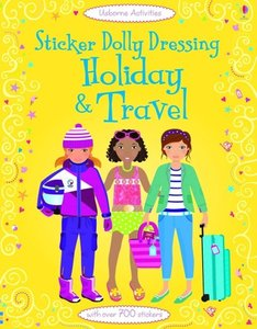 Sticker Dolly Dressing: Holiday & Travel