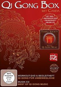 Qi Gong Box - Set inklusive Anfänger-DVD, Übungsheft und Musik-C