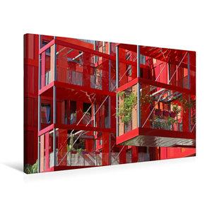 Premium Textil-Leinwand 75 cm x 50 cm quer Version Rubis im Parc