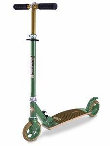 City Kicker Scooter mit Holzdeck