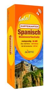 Karteikartenbox Basiswortschatz Spanisch Niveau A1