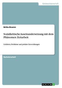 Sozialkritische Auseinandersetzung mit dem Phänomen Zeitarbeit