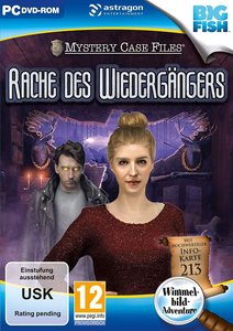 Mystery Case Files, Rache des Wiedergängers, 1 CD-ROM