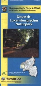 Deutsch-Luxemburgischer-Naturpark 1 : 50 000