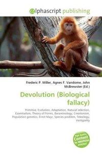 Devolution (Biological fallacy)